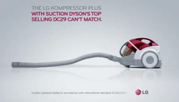 LG kompressor plus reklam